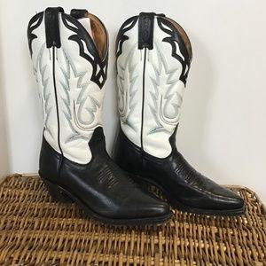 Boulet Women's Cowboy or Moto Boots  Size 6
